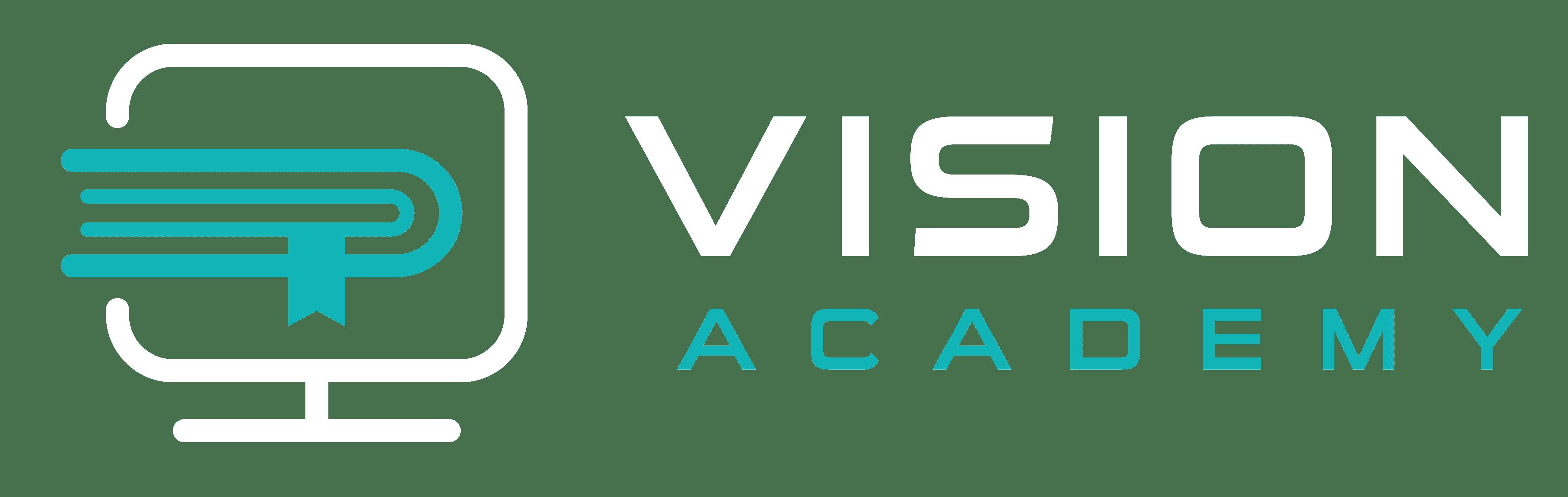 VisionAcademy Logo أكاديمية فجن لوجو
